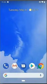 Simplicity in Android P home button
