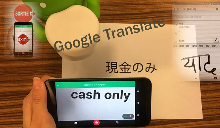 Google Translate app Features